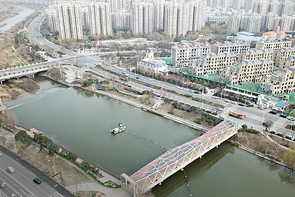 Environmental dredging project in Xi´an, China