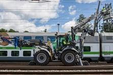 Lännen line rail ratarakentaminen