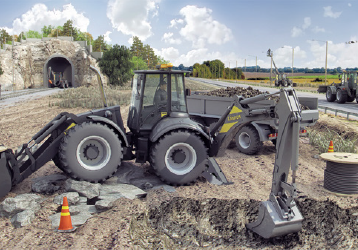 Heavy-duty multipurpose backhoe loaders