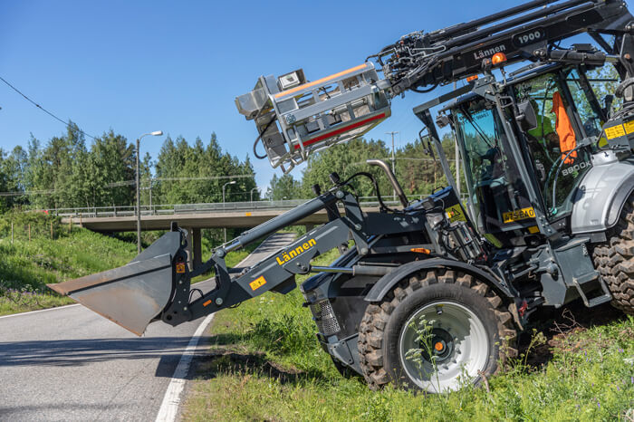 Lännen line systems off-road